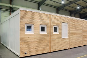 Wohncontainer - ideale Lösung