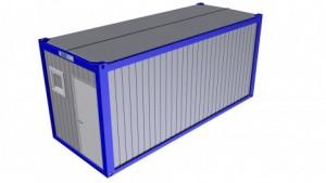 Containertypen - Typ H - Sanitärcontainer 1
