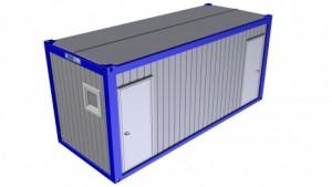 Containertypen - Typ F - Sanitärcontainer 1