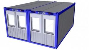 Containertypen - Typ M - Bürocontainer - Duoanlage 1