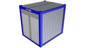 Containertypen - Typ K - Sanitärcontainer 1