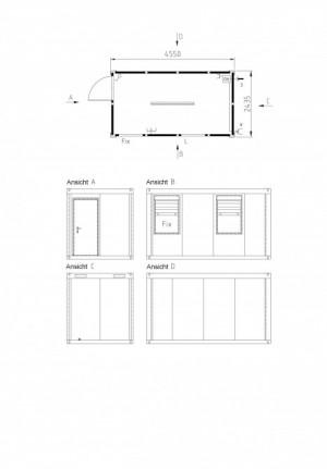 Containertypen - Typ O - Bürocontainer 2