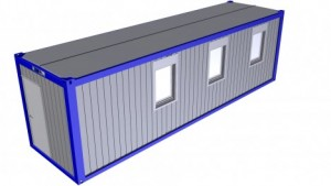 Containertypen - Typ R - Bürocontainer  1