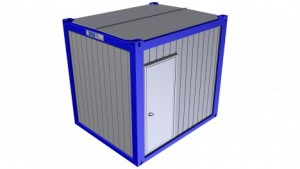 Containertypen - Typ I - Bürocontainer 1