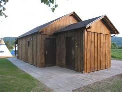 Sanitärcontainer für Campingplätze