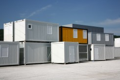 Bürocontainer als Containergebäude