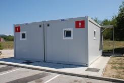 Sanitärcontainer als WC-Anlagen